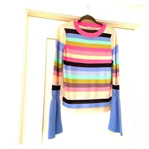 ASOS bright striped sweater